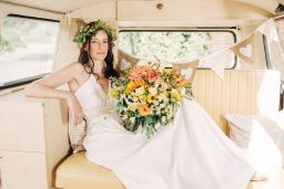 Buttercup Bus - wedding VW campervan hire