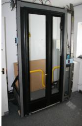 Typical TDS Inward Glider Door System (Mockup Rig)