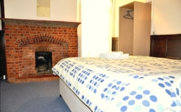 Double room at Heathrow Lodge