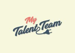 Averma mytalent.team logo design in Sussex