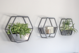 3 Wall planters
