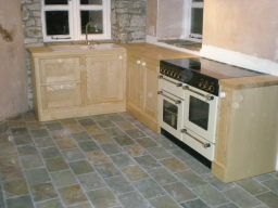 Hand made kitchen example