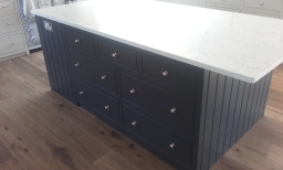 Hand made kitchen centre island example
