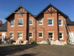 Commercial painting to flats Woodhall Spa
