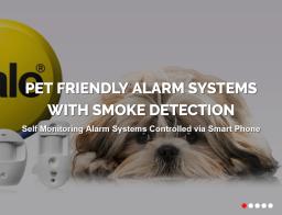 Pet Friendly Yale Smart Alarm Systems