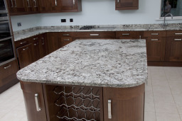 A Cold Spring granite worktop