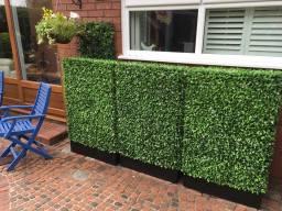 Bespoke artificial hedge planters