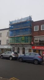 D & G Scaffolding for roofing and painting