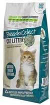 Breeder Celect 99 recycled paper pellet cat litter