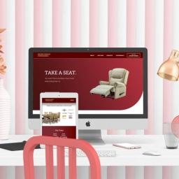 Haydn Stanley Furnishers Matlock Website Design