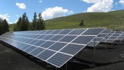 Green Pulse Solar Energy Panel Fitting