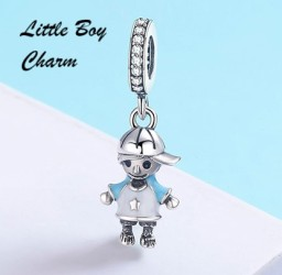 Little Boy Charm