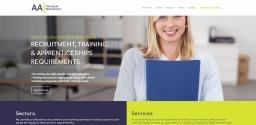 Website Design for AATAR Recruitment