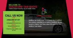 Guildford Taxi Quote