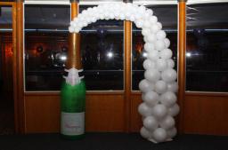 Champayne balloon bootle hire