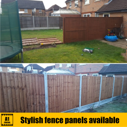 Stylish Fence Panels at A1 Fencing