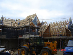 Eco-Desing being built