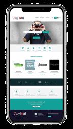 Zizzy Local Website Design