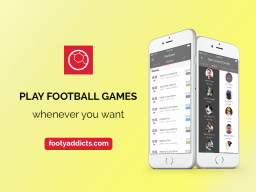 Play football games in London