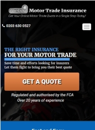 Rainbow Motor Trade Mobile Home Page