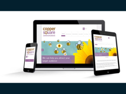 Responsive Website | Copper Square Communications