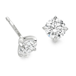 Handcrafted Diamond Earrings in Hatton Garden