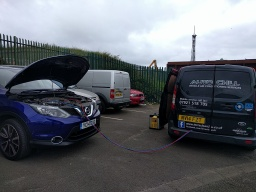 R1234yf Aircon recharge service in Hartlepool