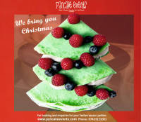 FESTIVE PARTY FOOD|CREPES BAR WITH CHEFS & FRESH TOPPINGS|PANCAKEEVENTS.COM