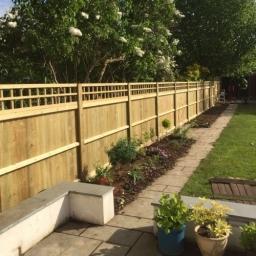 Jackson Cedar Wood Fences London