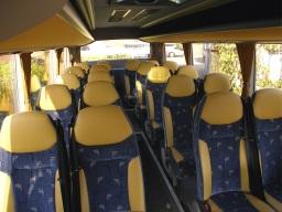 22 seater interior