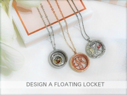 Heirloom and Floral Locket Designs 2017