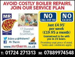 Join our boiler Service Care Plan