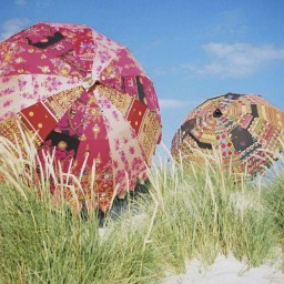 Embroidered Indian Parasols
