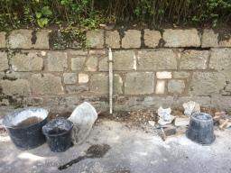 Wall rebuilding