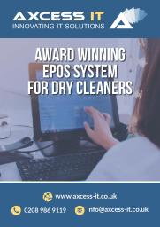 Dry Cleaning Epos Ad