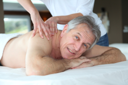 massage in cardiff for seniors and old age pension
