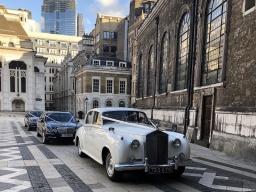 Silver Cloud Rolls Royce & Mercedes