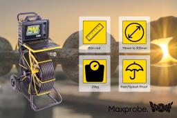The Maxprobe drain camera
