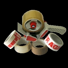 Tape dispensers and a range of packing tapes in stock