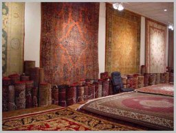 Hand-knotted Persian Rug Showroom