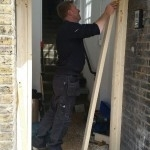 New Doors and frames fitted