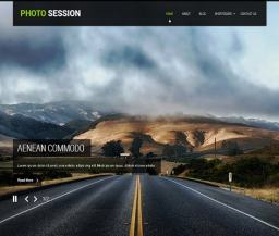 photography website design fro your website