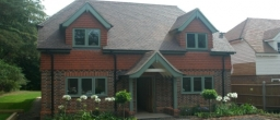 A new house project in Cherrimans Orchard, Haslemere