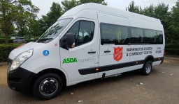 Wheelchair Access minibus for Salvation Army