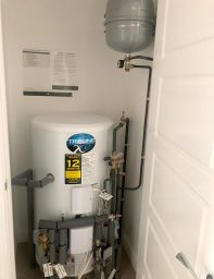An Unvented Cylinder Service in Cross Gates
