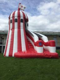 Full range of inflatable slides to hire