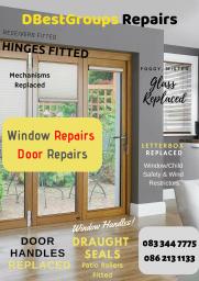 Window Repair Door Repair Glass Glazing PVC Repair