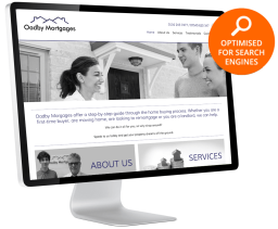 Oadby Mortgages website