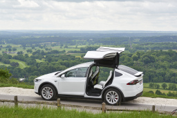 TESLA MODEL X CAR HIRE EVHIRE