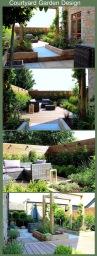 Courtyard garden designed by Jo-anne Foxcroft
